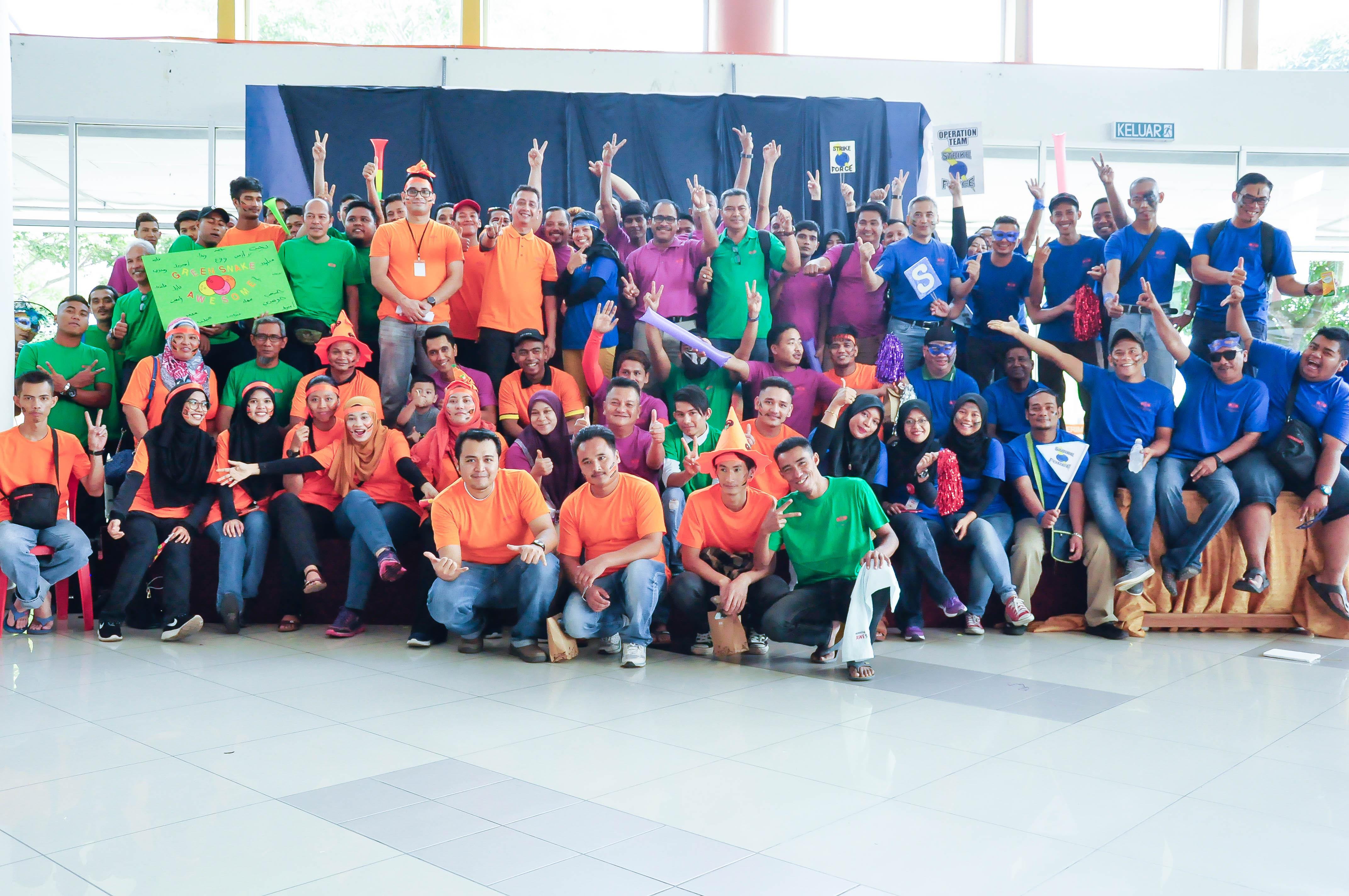 Kejohanan Bowling antara Jabatan CCB 2017
