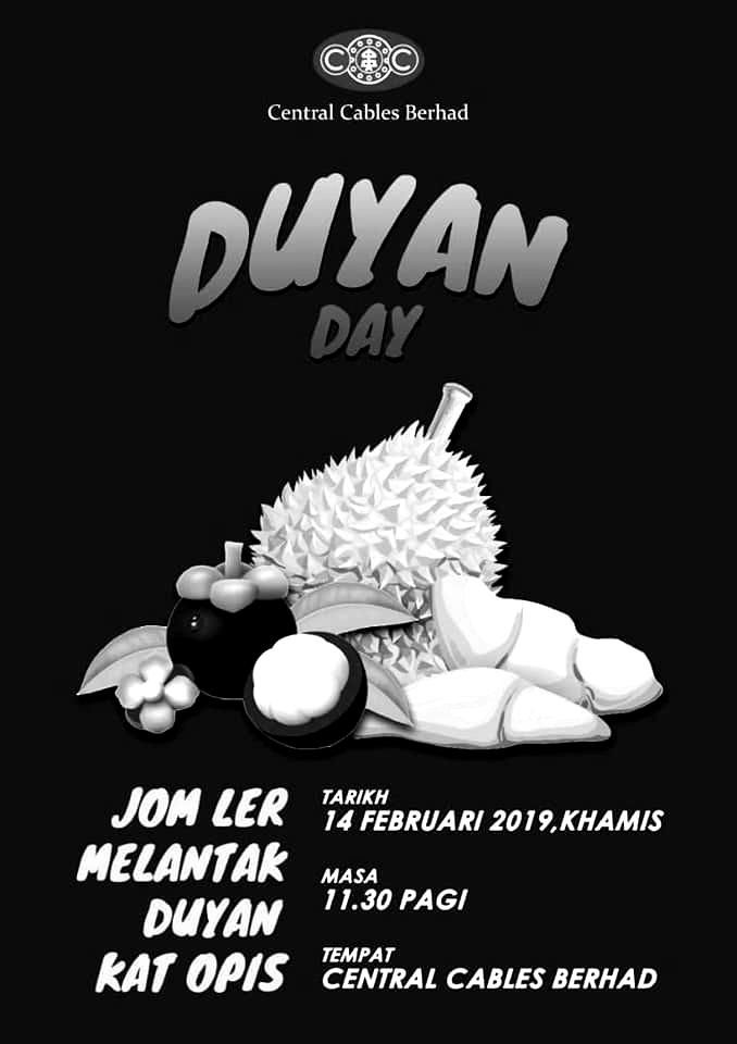 Central Cables Berhad Durian Day