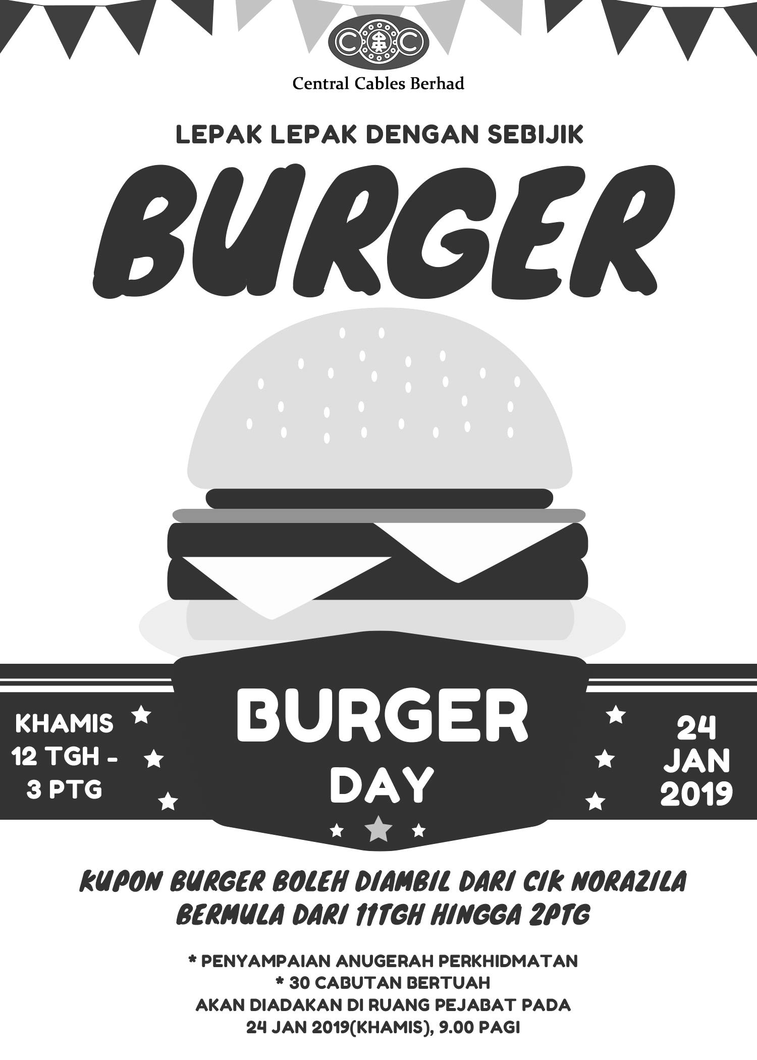 Central Cables Berhad – Burger Day