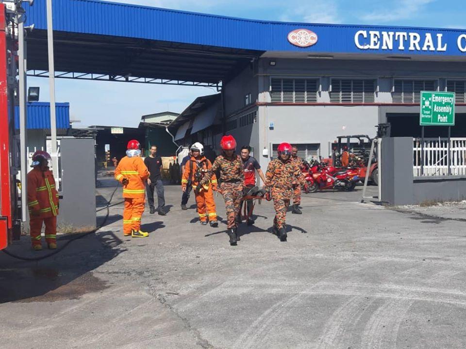 CCB Fire Drill 2019