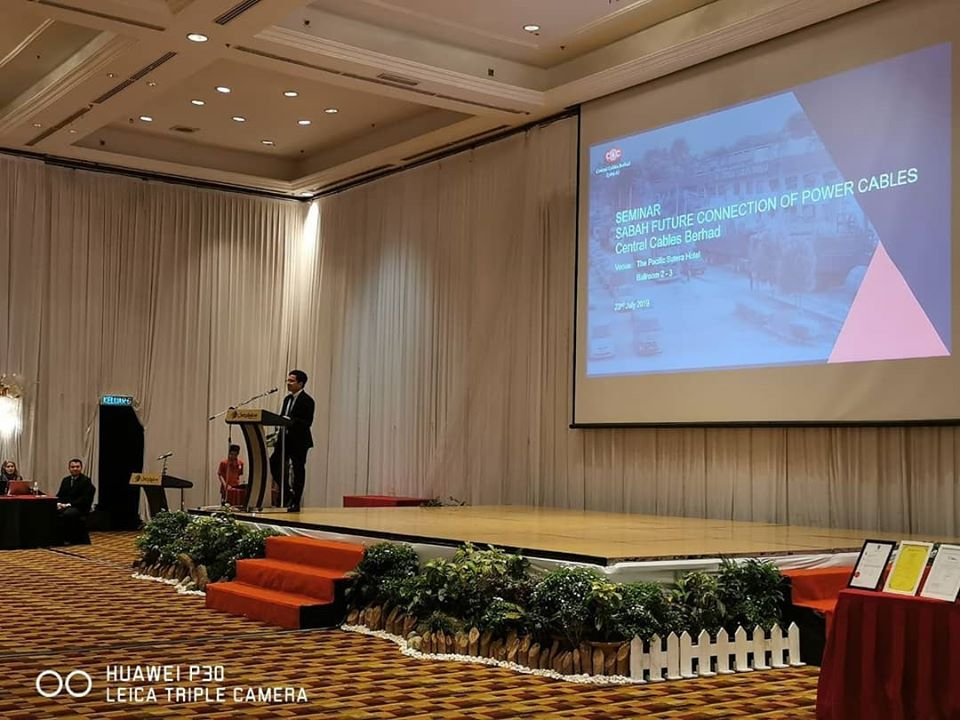 Seminar on Sabah Future Connection of Power Cables 2019